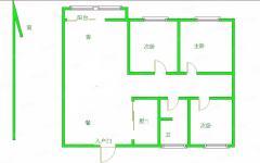 (城西区域)远大中央公园3室2厅1卫90万108.87m²毛坯房出售